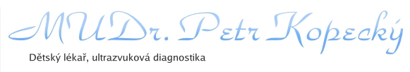 Pediatr MUDr. Petr Kopecký